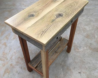Attractive Redwood U0026 Cedar End Table