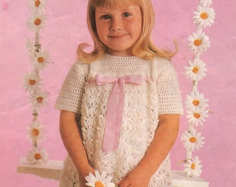 Vintage crochet pattern Wendy 1260