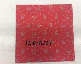 Decorated napkins DECOUPAGE (flowers)