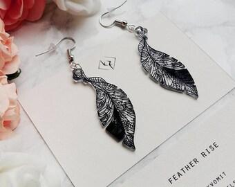 Ink Jewel earrings