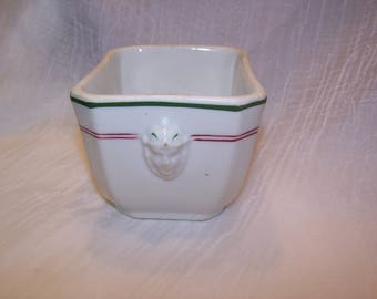 Warick China, Butter or Grease Container, Railroad China