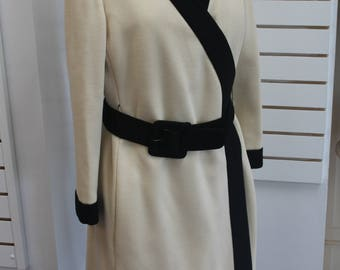 Donald Brooks Chemise Dress and Matching Coat