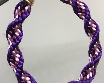 Handmade Kumihimo Braided Bracelet