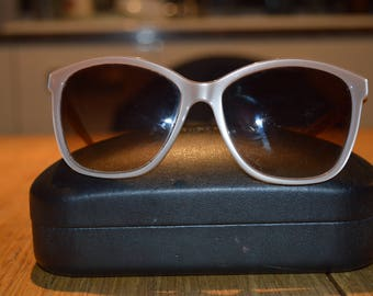 Dolce and Gabanna Cat's Eye Sunglasses in case