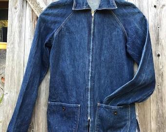 DENIM 70's woman jacket