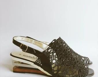 Classic 80's/90's heel party shoe