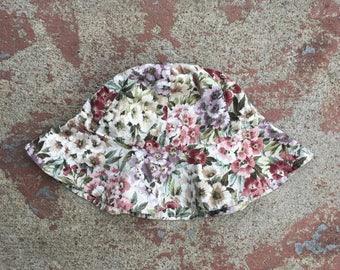 Reversible Floral Sunhat