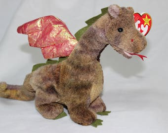 Ty Beanie Baby Scorch the Dragon