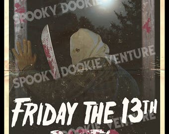 Friday The 13th Part 2 11x17 Print