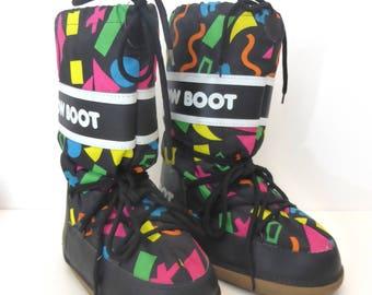 1990s Après-Ski Snow Boots