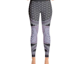 Peaceful Wanderer Leggings / Womens Leggings / Leggings / Yoga Leggings / Yoga Pants /Workout Leggings / Festival Leggings / Sports Leggings