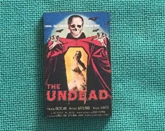 Udead/Horror Wooden Needle Minder