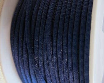 Blue rat tail, 2.5 mm No. 15