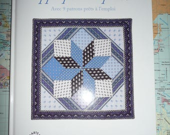 Book: apply and QUILT (patchwork) amelia saint george - DMC
