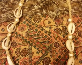 80s Cowry Shell Necklace