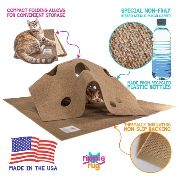 Ripple Rug Cat Activity Mat