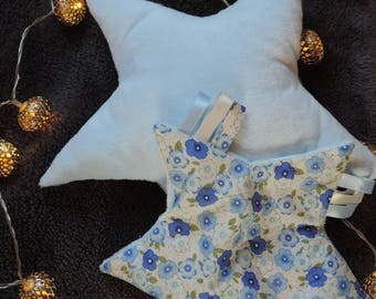 Star shaped pillow and Teddy set