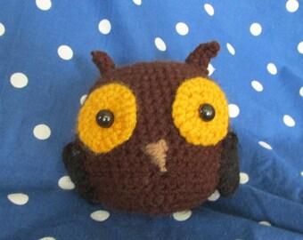 Round Owl Plush