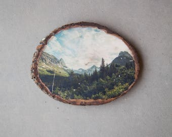 Nature Landscape Wood Photo Transfer