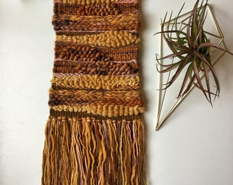 """Woven Wall Hanging """"Painted Hills"""""""