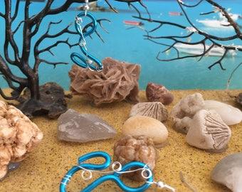 Earrings Ocean Atlantic 4 x 2 cm