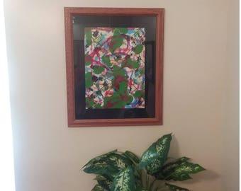 Bleeding Heart Painting On canvas