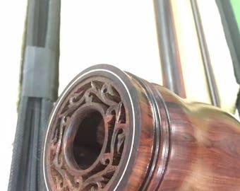 Erhu Urheen Erh-hu Chinese violin handmade roosewood traditional design