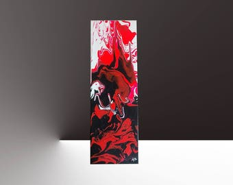 "Bright modern abstract painting ""Action painting"" ""Dark slide"""