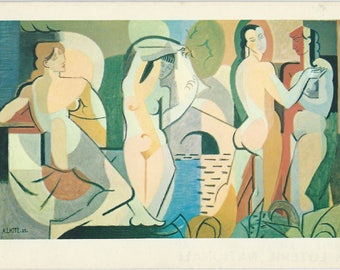 The bathers by André LHOTE