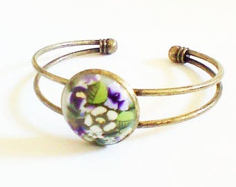 Branch double Bangle Bracelet