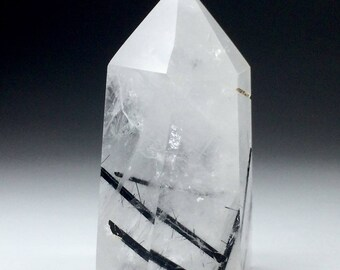 Tourmaline Quartz Crystal