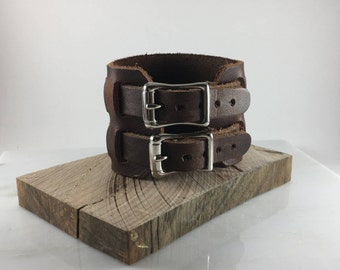 Johnny Depp Style Leather Cuff