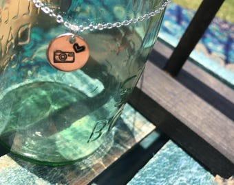 Photography Love Pendant Necklace