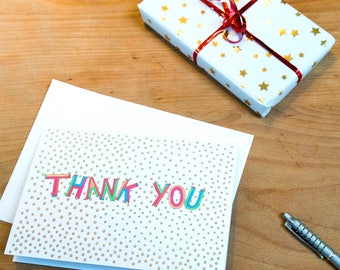 Emojis Smiley Faces Illustrated Thank You Card