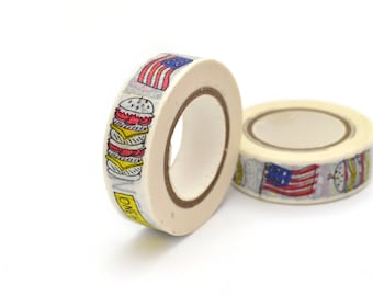 10 meters of masking tape USA 15 mm