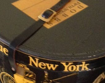 Vintage Dobbs of New York Hatbox