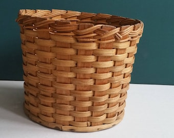 Rattan Vintage Vintage Basket planter/Woven wicker Bamboo rattan/Rainbow Boho Home Style-indoor-house-plants deco plants