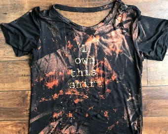 Own This Shirt - Black/Gold
