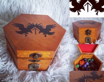 Customisable Dungeons & Dragons Dice Box