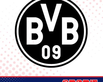 Dortmund silhouette, sport silhouettes, Soccer silhouette SS-SO-009