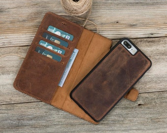 iPhone 7/8 Wallet Case, Leather iPhone 8 Wallet Case, iPhone 8 Plus Wallet Case, iphone 8 leather case, iPhone 8 case leather