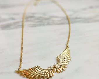 Wings Necklace Ring set - N17