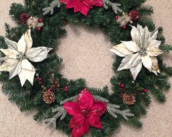 Large Christmas Wreath for you door