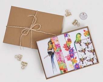 Tropical Birds & Floral Stationary Gift Set