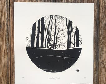 Woodland Trails Limited Edition Screen Print