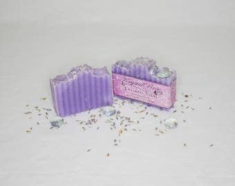 Lavender Fields Handmade Essential Oil Soap Bar