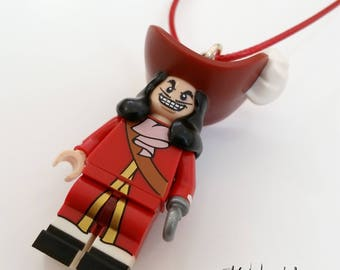 Captain Hook Lego necklace