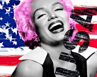 """Marilyn Monroe Wall Art (Limited Edition) 12"""" x 12"""""""