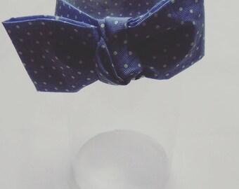Oversized Bow polka dot Headband Ladies