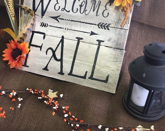 ON SALE - Handmade Wood Decor. Rustic Wood Decor, Rustic Wood Signs, Fall / Autumn Themed Signs - Customized Rustic Wooden Sign